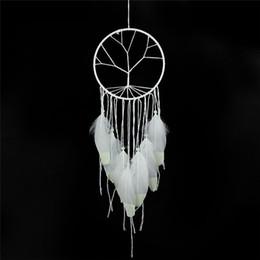 3pcs / lot date Dream Catcher cadeau Inde arbre de vie Fluorescence Dreamcatcher Noctilucous vent Carillons Suspendus Pendentif Décor À La Maison ? partir de fabricateur