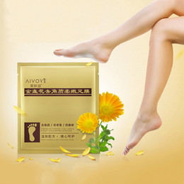 Wholesale Peeling Mask For Feet - AFY Foot Peeling Renewal Mask Cuticles Heel For Remove Dead Skin Excellent Feet Cleaning Foot Mask Top Quality 3006055