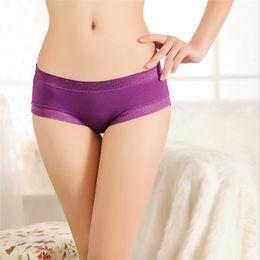 Wholesale Cotton Panties For Sale - Hot Sale women boxer 5 pcs  lot Ladies sexy underwear Cotton Panties For Lady Sexy Women's panties