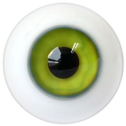 Wholesale Glass Eyeballs - ET73# 14mm Water Green SD DZ DOD LUTS BJD Dollfie Glass Eyes Outfit