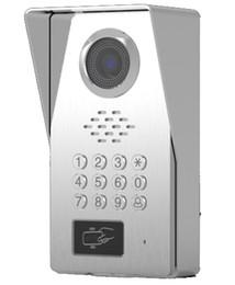 2019 système de sécurité vision nocturne SMTVDP TFT LCD Couleur Vidéo Porte Téléphone Sonnette IR Interphone Home Security Système Vidéo FRID Caméra, Couleur HD Night Vision Caméra promotion système de sécurité vision nocturne