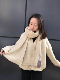 Wholesale Top Tartan Scarf - Winter Top Unisex 100% Cashmere Scarf Women and Men 2017 luxury brand Plaid Scarfs echarpe Pashminas Women shawls and scarves