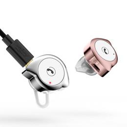 Fone de ouvido caracol on-line-Mini Caracol headset Bluetooth Wireless Music esporte fone de ouvido bluetooth fone de ouvido Invisível microfone Condução por iphoneX Xs max Xr Samsung S9
