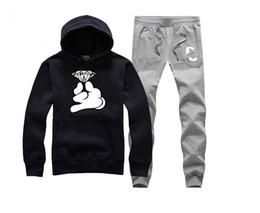 2019 diamant gauner hoodie Crooks und kostenloser Versand Hip-Hop-Sweatshirts Winterklage Baumwolle schwitzt für Männer Diamant Hoodie Pullover Schlösser Sweatshirt-H12 günstig diamant gauner hoodie