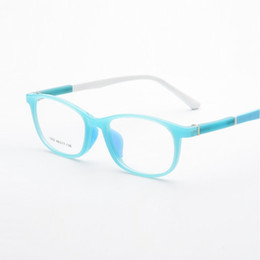 68a5523751 ultra-lightweight super tough Silica gel TR90 kids goggles myopia eyglasses frames  children spectacles frames eyewear width-132