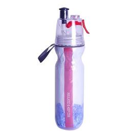 2019 garrafas de água mochila 500 ML Esportes Garrafa De Água Spray De Água Shaker Copo Ao Ar Livre Drinkware Garrafa De Bicicleta Esportes de Fitness Saúde