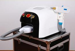 équipement d'élimination des cicatrices Promotion ND YAG laser tatoo removal équipement de beauté ont écran tactile 1000 w cicatrice enlèvement de taches de rousseur / cicatrice acné tatouage remover CE / DHL livraison gratuite