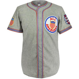 Wholesale japan embroidery - US Tour Of Japan 1934 Road Jersey 100% Stitched Embroidery Logos Vintage Baseball Jerseys Custom Any Name Any Number Free Shipping