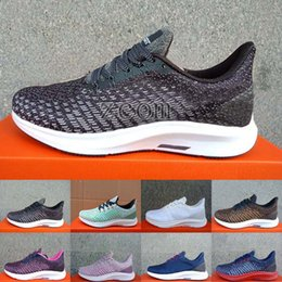 best website cb6e3 7aebd 2018 Nuevo Zoom Pegasus 35 Turbo Zapatillas de deporte Marca de lujo Diseñador  Mujeres para hombre Zapatillas de deporte Zapatillas de deporte Pegasus 35  ...