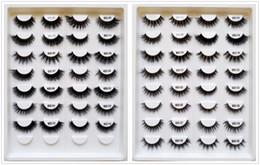Canada 1 paquet, 30 styles sélectionnables, bande noire haute qualité 3D cils de fourrure de vison de cheveux de cils extension de cils OEM / Custom / Logo privé Acceptable cheap hair band extensions Offre