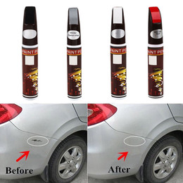 Wholesale Pro Repair - 13 Color ZHANDIAN New 4 Colors Professional Car Repair Paint Pen Fix It Pro Clear Car Scratch Remover Painting Pens