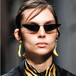 44b0fd634b2 Hip Hop Cat Eye Sunglasses 2018 Brand Designer Luxury Sun Glass For Women  Small Metal Frame Ladies Retro Vintage Eyewear Shades