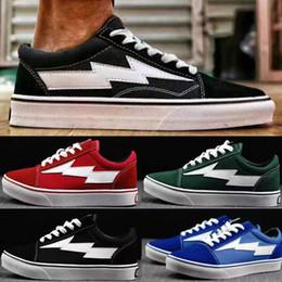 Wholesale Checkered Skate Shoes - Revenge X Storm Old Skool Canvas Boots Men Shoes Men's Sneakers Skateboarding Casual Shoes Women Skate Shoes Womens Boots