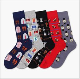 Deutschland Neue Trend Socken personalisierte atmungsaktive paar Strümpfe Herren Baumwolle japanische kreative Socken mit 75% Baumwolle Stoff zum Verkauf Versorgung
