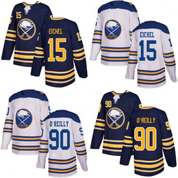 Wholesale Ryan White - White 2018 Winter Classic Buffalo Sabres 15 Jack Eichel Jersey 90 Ryan O'Reilly blank navy blue Authentic Player Jersey