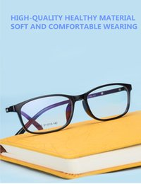 e3a501cf9c51 wholsesale new style glasses frame super light Korea TR90 optical  prescription full-rim glasses with case 5203 unisex four colors eyeglasses