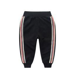 Wholesale Boys Black Trousers - 2018 Casual Boys Harem Pants Top Quality Cotton Cartoon Baby Trousers For Pantalon Enfant Clothes Elastic Waist Kids