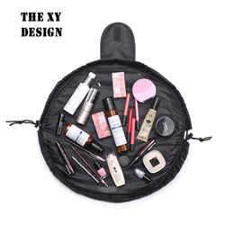 wholesale custom pouch cosmetic bag Promo Codes - The xy design New Cosmetic Bags With Cover Travel Make Up Organizer Pouch Neceser Toiletry Bags Free Shipping Wholesale Custom