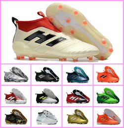 Wholesale dragon spring - ace 17 purecontrol FG ace 17.1 Crampons de football boots mens high top ankle soccer cleats dragon soccer shoes outdoor chuteiras men