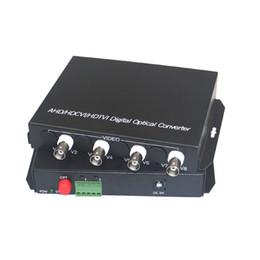 Vídeo de fibra óptica on-line-1080 P HD CVI AHD TVI 4 Canais De Fibra De Vídeo De Vídeo Conversores de Mídia Óptica com RS485 Dados-Para 1080 p 960 p 720 p AHD CVI TVI HD CCTV
