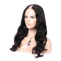 U parçası peruk brezilyalı dalgalı insan saçı upart peruk siyah kadınlar için uzun doğal dalgalı bakire saç nereden bakire çocuklar tedarikçiler