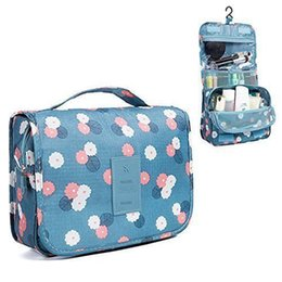hanging waterproof cosmetic bags Coupons - Hot & Popular Travel Portable Cosmetic Toiletry Bag Makeup Pouch Waterproof Hanging Organizer Bag for Women Or Men