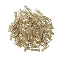 Toptan Çok Küçük Mayın Boyutu Için 30mm Mini Doğal Ahşap Klipler Fotoğraf Klipler Clothespin Craft Dekorasyon Kazıklar 50 Adet nereden