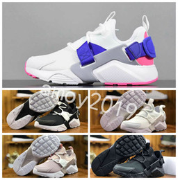 Botas de huarache online-2018 New Huarache Ultra BR 5 V Air Running Shoes para hombres mujeres Green Black Sneakers Huaraches Mens Trainers Boot Huraches Sports Shoes