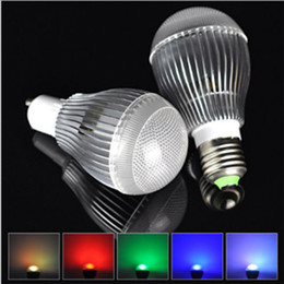 Haute Puissance 9W E27 LED GU10 Ampoule B22 E14 Ampoule Lumière 85-260V LED RGB Ampoule Lampe 24 clés Télécommande Infrarouge ? partir de fabricateur