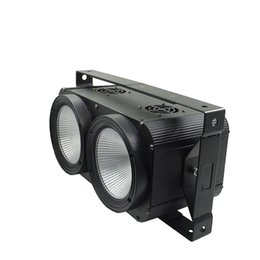 Conduttrice principale online-2x100W LED COB 2 Eyes Blinder Calda / fredda bianca DMX Stage LED Strobe Light Club Show Night DJ Disco professionale per palco