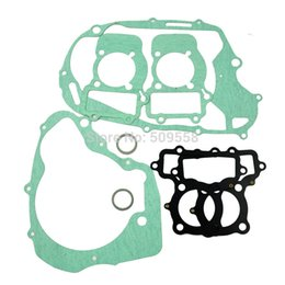 Wholesale Rebuild Engine - For Yamaha XV250 Motorcycle Rebuild Full Complete Engine Cylinder Top End Crankcase Clutch Cover Exhaust Pipe Gasket Kit Set