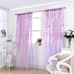 2018 Lila Schlafzimmer Vorhänge Eleganter  Fenster Screening Vorhang Fenster Screening Produkte