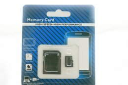 Wholesale 32gb Micro Sd Memory Card - NEW 70pcs DHL 32GB 64GB 128GB Micro TF Memory Card Class 10 With Adapter Class 10 TF Memory Cards with Free SD Adapter Retail Package