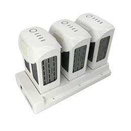 Caricatore fantasma online-Phantom 4 Battery Charging Hub 3in1 Caricabatterie intelligente Battery Manager per DJI Phantom4