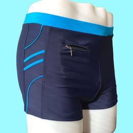 Wholesale Men S Swim Pouch - Brand Man Men Swimwear Men's Swimsuits Surf Board Beach Wear Man Swimming Trunks Boxer Shorts Swim Suits Pouch WJ