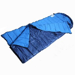 Algodón impermeable al aire libre online-Wnnideo 1 persona carpa saco de dormir de algodón portátil impermeable saco de dormir para el invierno al aire libre primavera otoño
