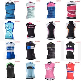 Wholesale Orbea Bike Jersey - KTM KUOTA NW LIV ORBEA SKY Sleeveless Cycling Clothing Bike Shirt Ropa Ciclismo Cycling Jersey Clothing High Qualiy maillot ciclismo D0301
