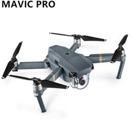 Wholesale Dji Gps - Original DJI Mavic Pro Fly Folding FPV Drone With 4K HD Camera OcuSync Live View GPS GLONASS System RC Quadcopter dhl