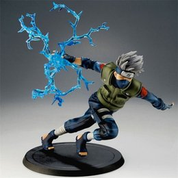 Wholesale naruto big - 16cm Naruto Kakashi Sasuke Action Figure Anime Puppets Figure Pvc Toys Figure Model Table Desk Decoration Accessories