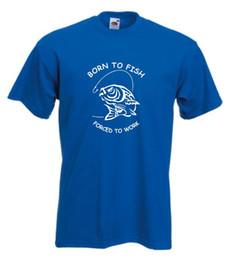0b4bca75 funny fish t shirts Coupons - Born To Fish T-shirt Funnytshirt Carp Angling  T