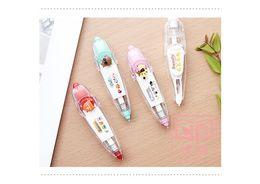 Wholesale Kawaii Deco Tape Wholesale - Cute Cartoon Sweet Decorative Correction Tape Fita Cetim Deco Rush Correctora Kawaii School Material Masking Pen