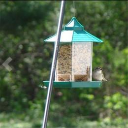 Wholesale Outdoor Hanging Plants - Outdoor Hanging Gazebo Birds Feeders Food Container Garden Decoration Waterproof Easy To Clean Wild Bird Feeder Green 23kb C R