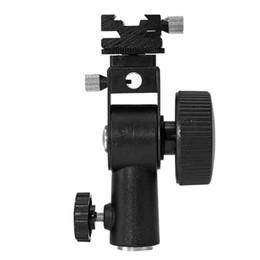 """Soporte para zapatos calientes online-soporte ligero al por mayor del soporte del soporte del soporte del montaje en caliente del flash Speedlite del tipo D para Speedlite Canon 1/4 """"Screw Bracket"""