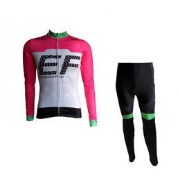 2018 primavera outono rosa verde pro tour equipe EF ciclismo jerseys kits mens bicicleta maillot MTB bicicleta roupas Ropa ciclismo de