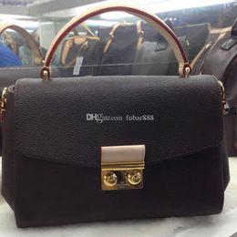 Livraison gratuite haute qualité en cuir véritable sac à main des femmes pochette Metis sacs à bandoulière sacs à bandoulière sacs N41581 ? partir de fabricateur