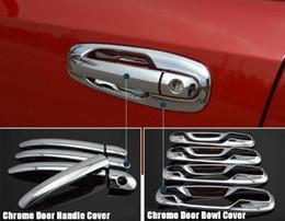 Wholesale Car Exterior Door Handle - wholesale Exterior Car Door Handle Covers For Buick Chevrolet Lacetti Optra Daewoo Nubira Suzuki Forenza Holden Chrome Sticker Accessories
