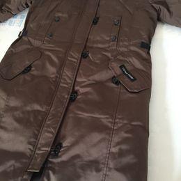 Wholesale Xs Women Black Winter Jacket - NEW Canadan down jacket female outdoor leisure thick warm winter cold long ski suit Women's Down outdoor