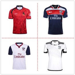 Wholesale Usa Rugby Jerseys Xxl - 2017 South Africa Spain fiji usa United States Japan rugby Jerseys NRL National Rugby League rugby shirt nrl jersey shirt