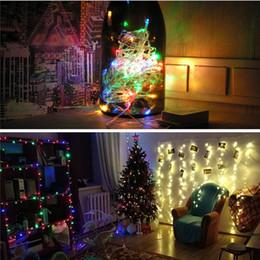 08bb2bf0aa1 2019 luz de la cadena de navidad impermeable rojo IGRARK Luz de Navidad  vacaciones al aire