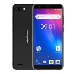 s1 android Sconti 5.5 pollici Ulefone S1 Smartphone Android 8.1 Doppia fotocamera posteriore MT6580 Quad Core 1 GB di RAM 8 GB ROM Face ID 8MP + 5MP 3G Smartphone